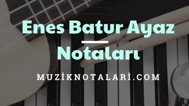 Enes Batur Ayaz Notaları